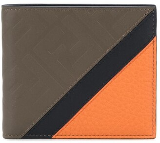 Fendi embossed FF motif wallet