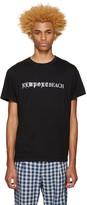 Noon Goons Black 'Newport Beach' T-Shirt