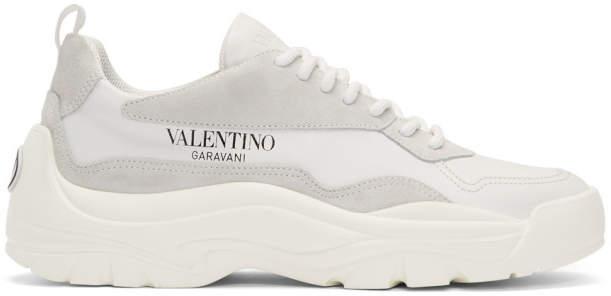 Valentino White Garavani Bansi Runner Sneakers