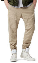 G Star Bronson Zip Tapered and Cuffed Chino Pants