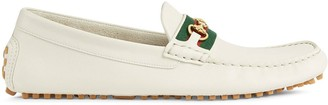 Gucci Web strap driving shoes