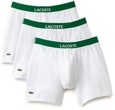 Lacoste Stretch Cotton Boxer Briefs - Pack of 3
