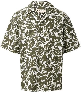 Marni Tropical Print Shirt