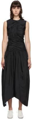 Markoo Black Gathered Dress