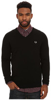 Fred Perry Classic V-Neck Sweater