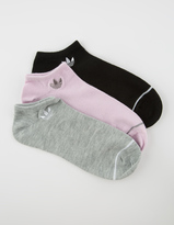 adidas 3 Pack Superlite Womens No Show Socks