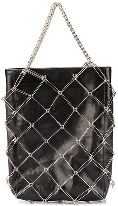 Comme des Garcons Safety Pin Chain Tote