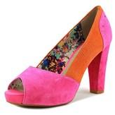 Hush Puppies Sasun Peep Toe Women Peep-toe Leather Pink Heels.