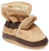 Robeez Baby Boys' Cozy Ankle Booties