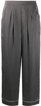 Eres Eleanor star print pyjama pants