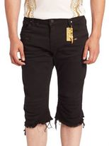 Robin's Jeans Solid Slim-Fit Shorts