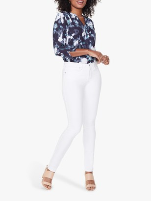 NYDJ Alina Skinny Jeans, Optic White