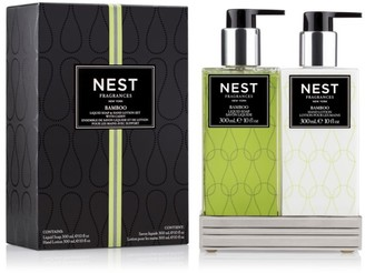 NEST Fragrances Bamboo Liquid Soap & Hand Lotion Set