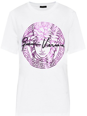 Versace Medusa cotton T-shirt