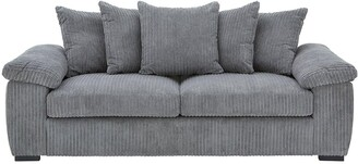 Amalfi3 SeaterScatter Back Fabric Sofa