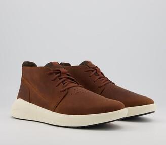 Timberland Bradstreet Ultra Chukka Boots Mid Brown
