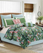 Hallmart Collectibles Closeout! Lau 8-Pc. Tropical-Print Queen Comforter Set Bedding