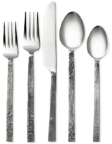 Cambridge Silversmiths Indira By Ravina Antiqued Mirror 20-Pc. Flatware Set, Service for 4