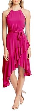 CeCe Sleeveless Cascading Ruffle Dress