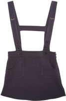 Emile et Ida Sweat Skirt with Straps and Embroidered Eyes
