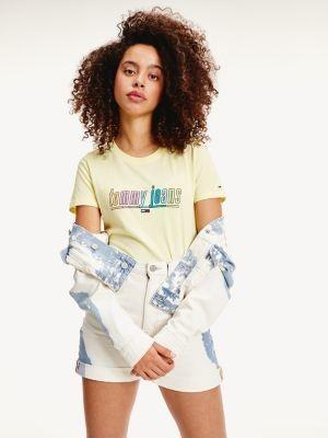 Tommy Hilfiger Multi-Colour Logo Organic Cotton Jersey T-Shirt