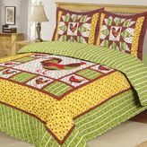 Rooster Reversible Quilt Set