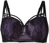 Marlies Dekkers Dame de Paris balcony bra D-size + - women - Nylon/Polyester/Spandex/Elastane - 70D