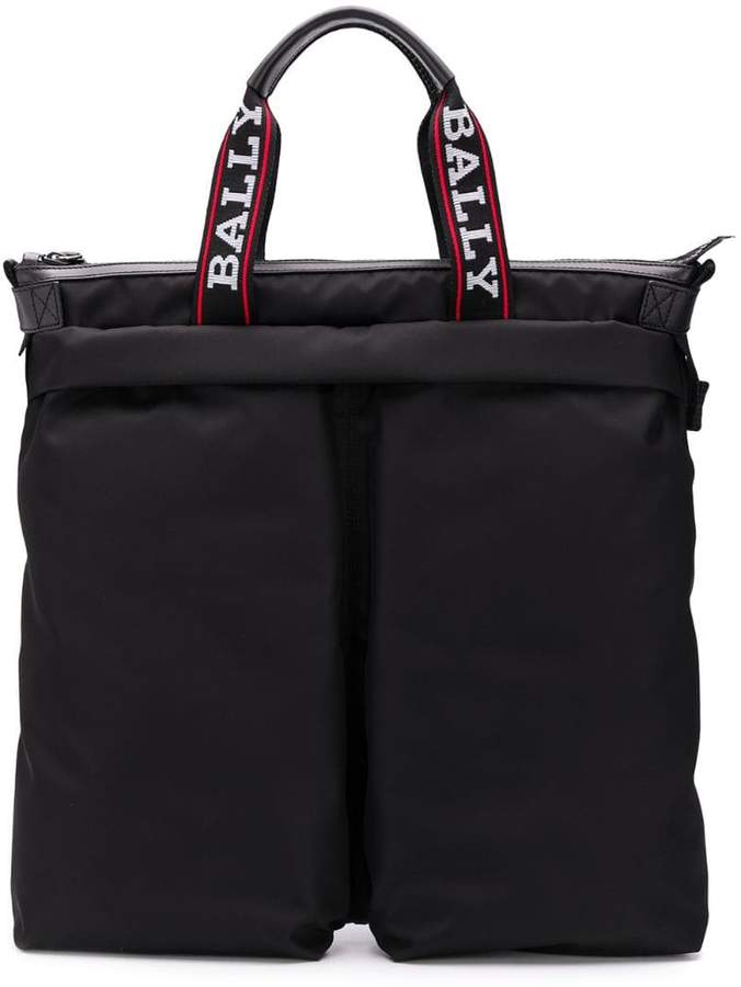 Bally shopper tote backpack