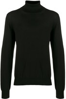 Maison Margiela roll-neck fitted sweater