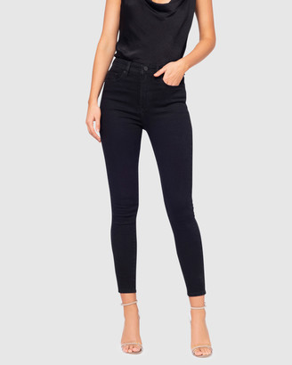 Pilgrim Women's Black Crop - Felicity Jeans - Size One Size, 12 at The Iconic