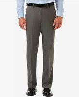 Haggar Men's Haggarandreg; Cool 18andreg; PRO Big and Tall Classic-Fit Flat-Front Expandable Waist Pants