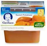 Gerber 1st Foods Sweet Potatoes (2-Pack)