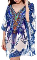 Patricia's Presents Blue Caftan Dress