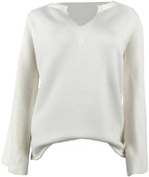 Goodnight Macaroon 'Nicole' V Neck Ribbed Sleeves Sweater (4 Colors)