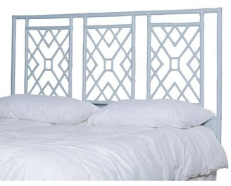 Bungalow Rose Charlack Open-Frame Headboard Size: King, Color: Light Blue