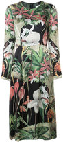 ADAM by Adam Lippes floral print midi dress - women - Silk - 2