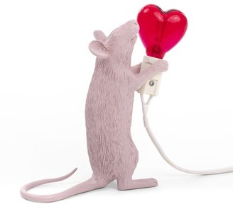 Seletti Standing Mouse Lamp Love Edition