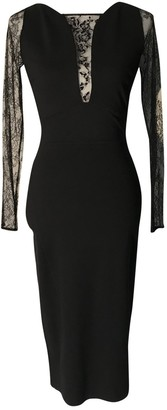 ZUHAIR MURAD Black Viscose Dresses