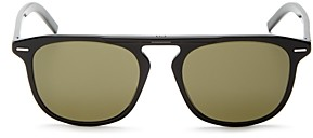 Christian Dior Men's Black Tie Square Sunglasses, 51mm