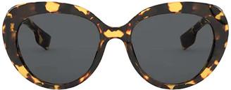 Burberry Be4298 Light Havana Sunglasses