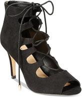 Thalia Sodi Luana Lace-Up Peep-Toe Dress Pumps, Only at Macy's