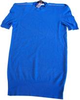 Marc Jacobs Blue Cashmere Dress