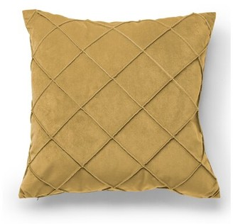 Protect A Bed Protect-A-Bed Geometric Throw Pillow Protect-A-Bed Color: Beige
