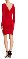 Rachel Pally Long Sleeve Side Ruched Dress