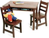 Lipper Walnut Rectangle Table Set
