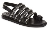 Topshop Women's 'Flying' Chain Strap Sandal