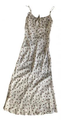 Rã©Alisation RAalisation Alba White Silk Dresses
