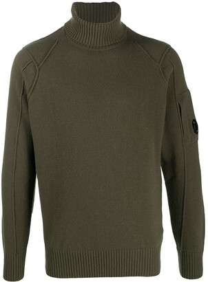 C.P. Company Roll-Neck Knit Jumper