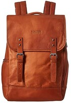 Kenneth Cole Reaction RFID Flapover Computer Travel Backpack (Cognac) Backpack Bags