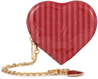 Louis Vuitton pre-owned heart coin purse
